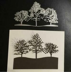 Snow Tree winter landscape Metal Cutting Dies Scrapbooking paper card making Die