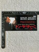 Movie Ticket Stub The Freshman 1990 Marlon Brando Matthew Broderick Japan Rare