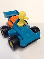 Vintage Sesame Street Big Bird in Race Car Rare Version BB