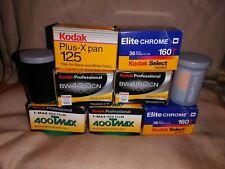 (9 rolls) expired film  Kodak T-Max 400 - Color print film 135 (35 mm)