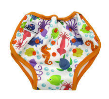 Underwater Animals Bamboo Toilet Training Pants Waterproof Adjustable + Pocket