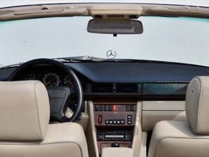 Mercedes-Benz A124 E320 300CE Convertible Dome Light Console Molded Cover - GRAY