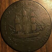 1814 NOVA SCOTIA FOR THE CONVENIENCE OF TRADE HALF PENNY TOKEN - Breton 880