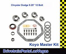 "Koyo Premium Master Bearing Rebuild Overhaul Kit Chrysler Dodge 9.25"" 12 Bolt"