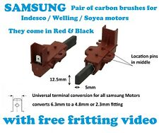Samsung washing machine Carbon Brushes Emerson Indesco welling soyea Motors