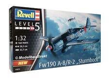 Focke-Wulf Fw 190 A-8 / R-2 - Sturmbock 1:32 Bausatz Revell Nr. 03874 NEU & OVP