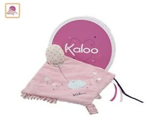 Kaloo Petite Rose Doudou Sweet Activity Plush Toy with Pacifier Holder by Kaloo
