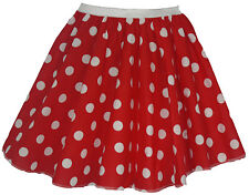 "UK Size 8-12 Skater Skirt Length 15"" Fancy Dress 50s Costumes"