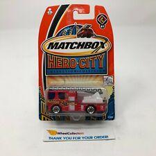 Dennis Sabre Fire Truck * Red * Matchbox * JD15