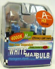 2 Stück Glühlampe 12V H3 55W Xenon 4000°Kelvin Autolampe Glühbirne