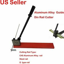 Manual Guide Din Rail Cutter for Aluminum  Alloy and Steel Rail Cutting Tool