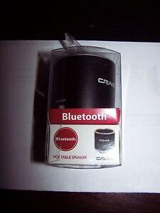NEW Craig Aluminum Case Ultra Sound Portable Bluetooth Speaker Sealed CMA3532BT