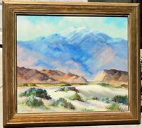Joane Cromwell, oil/canvas 25 x 30, Noted CA artist, great frame