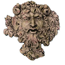 "Bacchus Roman God of Wine Wall Sculpture 19"" Museum Replica Reproduction"