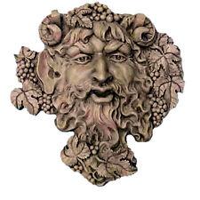 "Bacchus Roman God of Wine Wall Sculpture 19"" Museum Replica Reproduction"