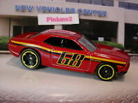 2016 Hot Wheels DODGE CHALLENGER CONCEPT☆RED; 68☆Multi Gift-Pack Exclusive☆loose
