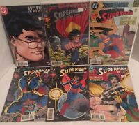 Superman Comic Book Lot Of 6