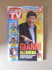 GUIDA TV n°40  2013 [G764] GIANNI MORANDI