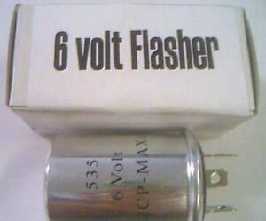 6 volt flasher Hudson 1937-1946-1955 6V