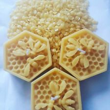 Beeswax Floating Candles x 2 100% pure uk sourced beeswax. honeycomb design
