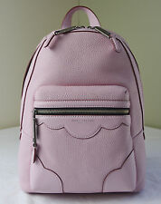 Marc Jacobs Pink Fleur Pebble Leather Haze Backpack