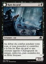 MTG Magic EMN - (x4) Graf Rats/Rats du graf, French/VF