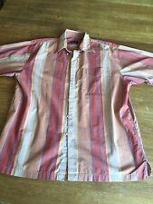 Jos A Bank Men's Dress Shirt Short Sleeve sz L
