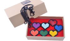 7pcs/set Undertale Frisk Heart Necklace Determination Bravery Pendant US SHIP