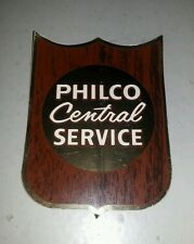 "Vintage Philco Central Service Radio Sticker 4"" Not Used AD-45380"