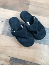 Women's Minnetonka Olivia Spa Slipper - Black Size 6.5 - 7.5