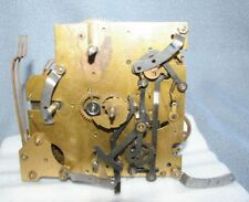 Vintage Enfield  Brass Clock Movement Spring Wound Gear driven
