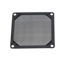 80mm Fan Filter Grill Cover Dustproof Mesh Black