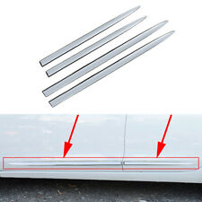 Universal Accessories Chrome Strips Car Side Door Body Molding Decor Cover Trim