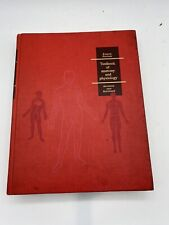 Vintage Textbook of Anatomy and Physiology Anthony & Kolthoff 8th Edition 1971