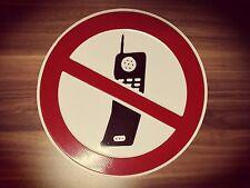 Handy verboten / Verbotsschild rund nach DIN d=20cm