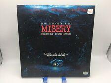 """""""Misery"""" Nelson Entertainment Laserdisc LD - Stephen King"""