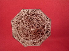 Staffordshire Creamware Whieldon Brown Tortoiseshell Glaze Plate Ca. 1770