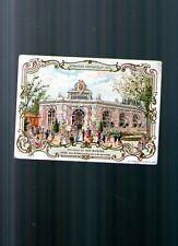 Grand chromo AU BON MARCHE EXPOSITION UNIVERSELLE 1900 pavillon art nouveau rare