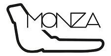 MONZA RACE CIRCUIT. Car vinyl sticker F1 Italian Grand Prix Formula One