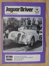 JAGUAR DRIVER Magazine February 1978 Edition 211 UK Mkt - Sales Brochure