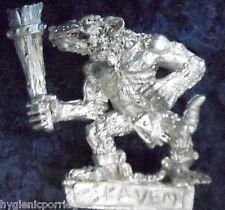 1998 SKAVEN esclave avec main arme 4 Chaos RATMEN citadelle WARHAMMER Armée clanrat
