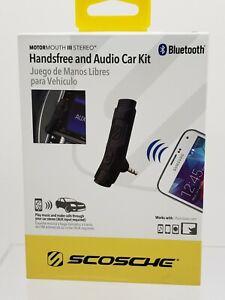 Scosche Bluetooth Aux Hands Free Audio Car Kit BTAXS2R