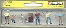 15104 Noch Glass Installers H0 Gauge Model Railway Layouts, Displays & Dioramas