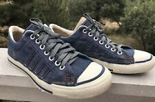 "Rare Vtg Converse Sears ""The Winner"" Tennis Shoes Sneakers Blue 1970s Mens Sz 10"