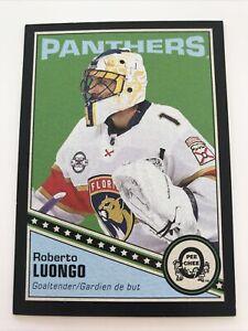 NHL Card,Roberto Luongo,Black Retro 078/100,OPC 2019-20