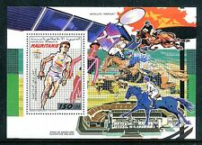Mauritania 669, MNH, 1990, Olympic Games Barcelona s/s. x13403