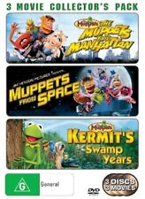 The Muppets Take Manhattan  / Muppets From Space  / Kermit's Swamp Years DVD