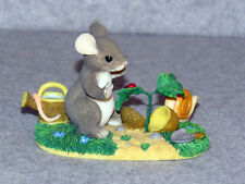 """Charming Tails """"A Growing of Friendship"""" Club Exclusive Fitz & Floyd 97/12 - EUC"""