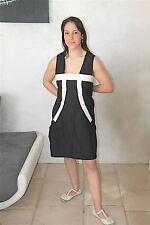 dress robe bicolore MARITHE FRANCOIS GIRBAUD taille 42   NEUVE ÉTIQUETTE