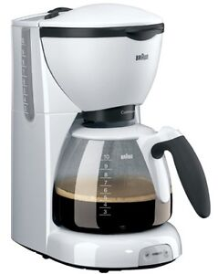 Braun 10 cup CafeHouse Pure Aroma Coffeemaker KF 520 FOR OVERSEAS 220 VOLTS ONLY
